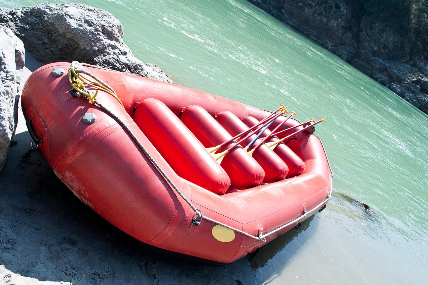 лодка идель плот