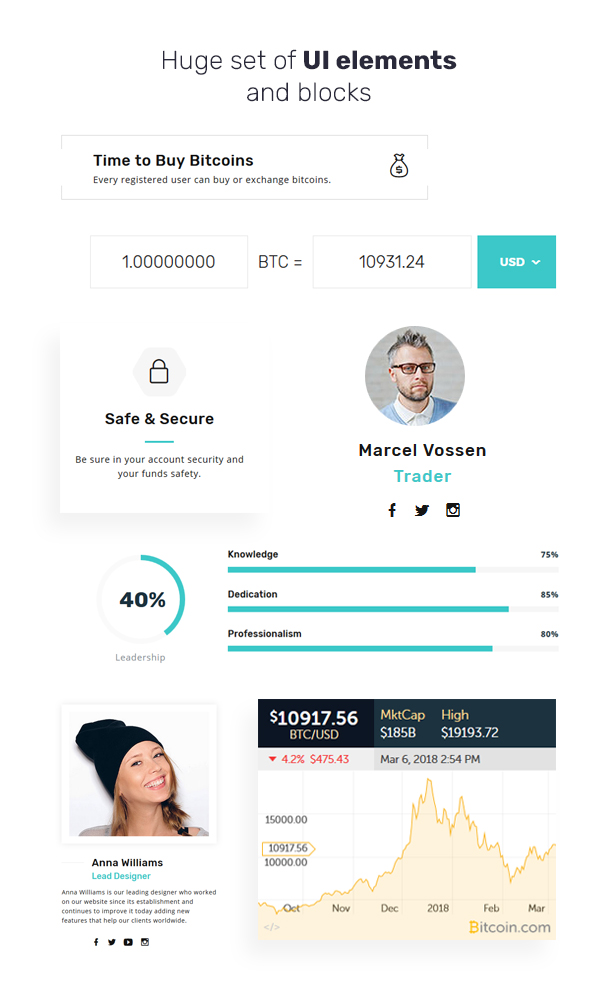 CardoCoin - Cryptocurrency and Bitcoin Multipage HTML5 Template - 2