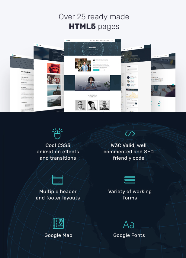 CardoCoin - Cryptocurrency and Bitcoin Multipage HTML5 Template - 3