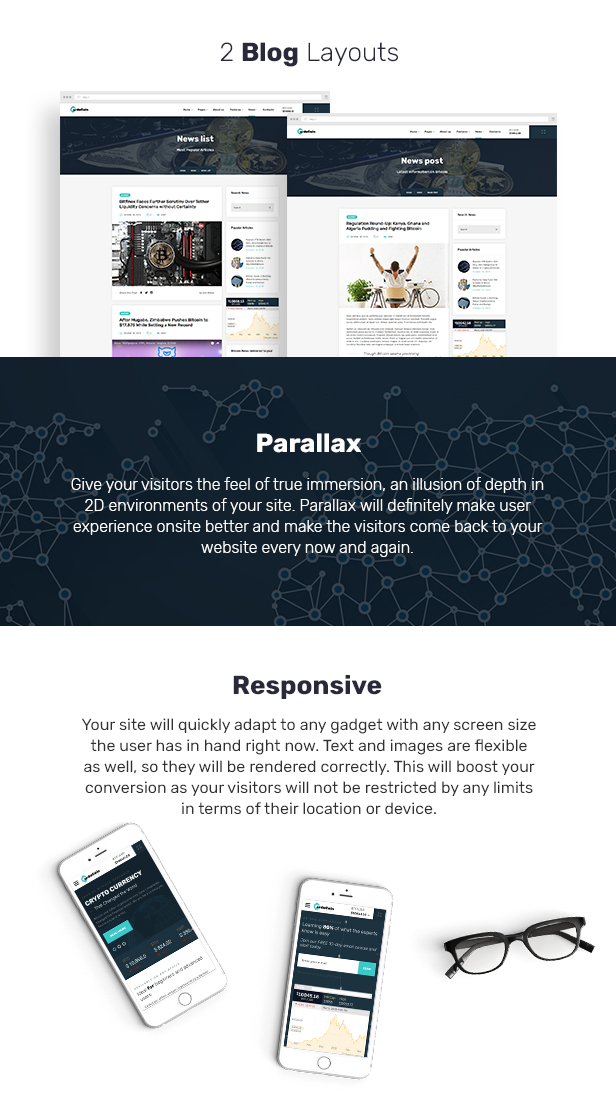 CardoCoin - Cryptocurrency and Bitcoin Multipage HTML5 Template - 4