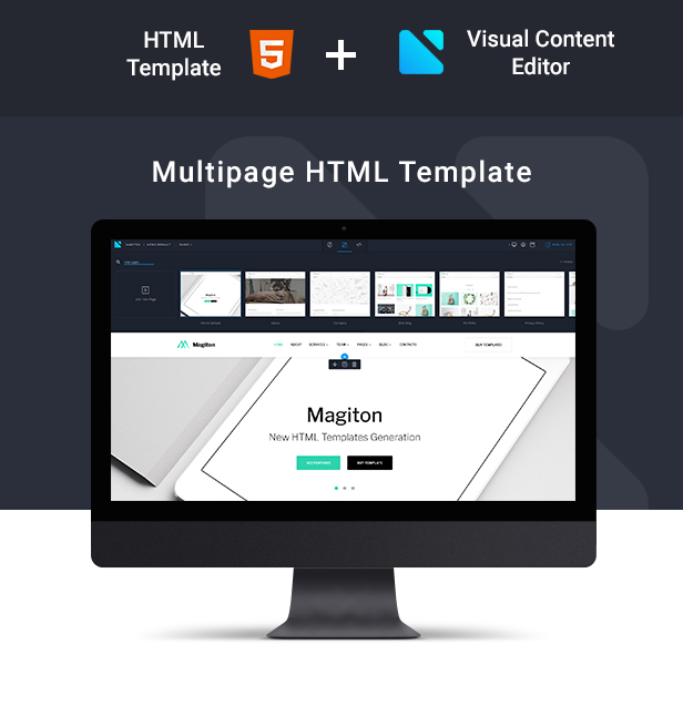 Magiton - Business  Multipage HTML5 Template - 2