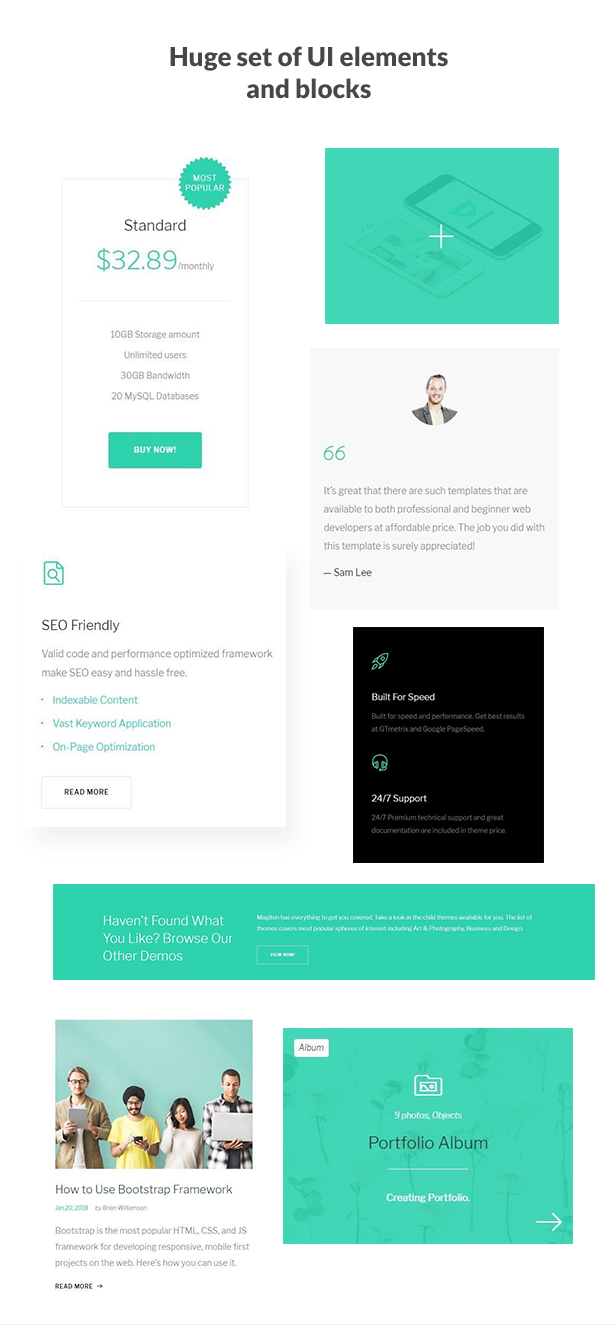 Magiton - Business  Multipage HTML5 Template - 3