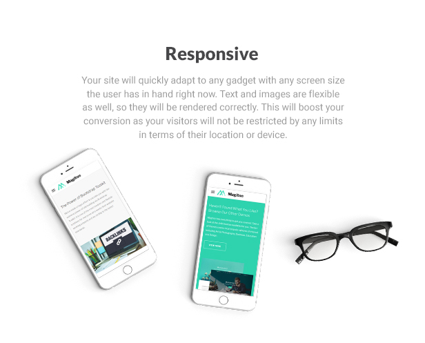 Magiton - Business  Multipage HTML5 Template - 5