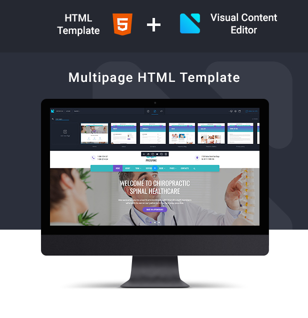 Prospine - Medical Multipage HTML5 Template - 2