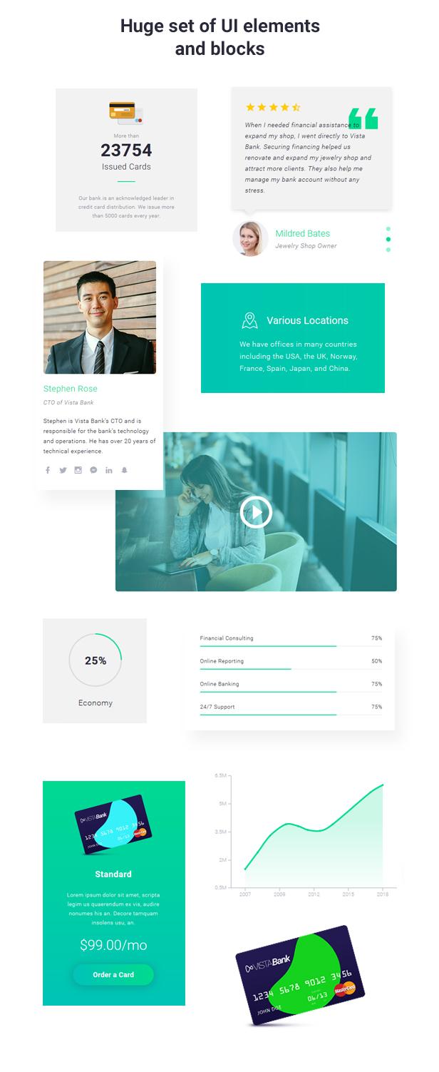 VistaPay - Bank Multipage HTML5 Template - 2