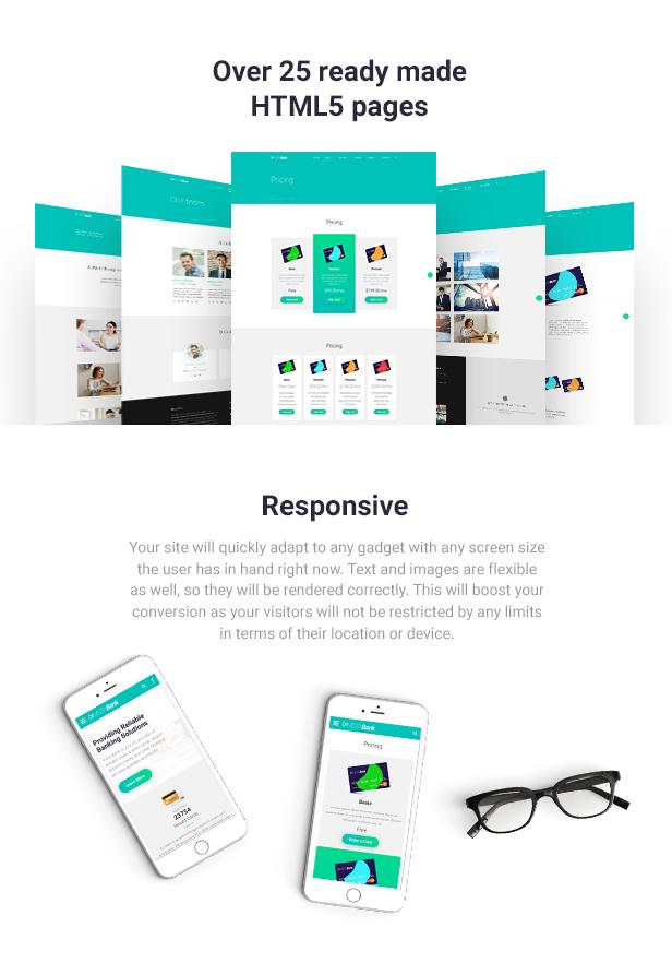 VistaPay - Bank Multipage HTML5 Template - 4